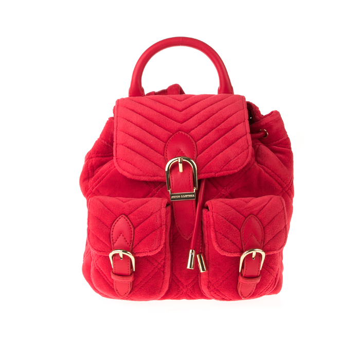 JUICY COUTURE - Γυναικείο σακίιδο πλάτης JUICY COUTURE FAIRMONT FAIRYTALE MINI κόκκινο