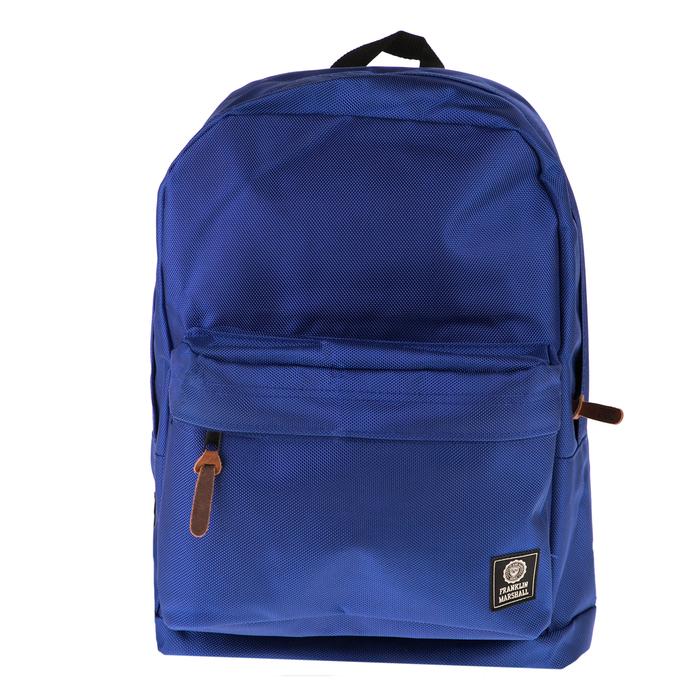 FRANKLIN & MARSHALL - Τσάντα πλάτης Franklin & Marshall μπλε