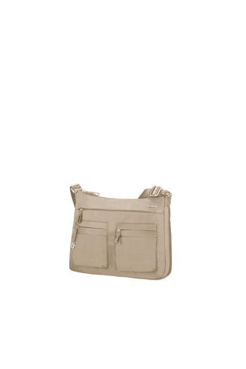 SAMSONITE - Γυναικεία τσάντα ώμου MOVE 2 HOBO S EXP μπεζ