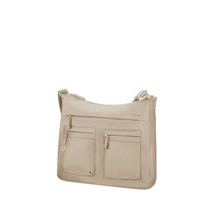 SAMSONITE - Γυναικεία τσάντα ώμου SAMSONITE MOVE 2.0 HOBO M EXP μπεζ
