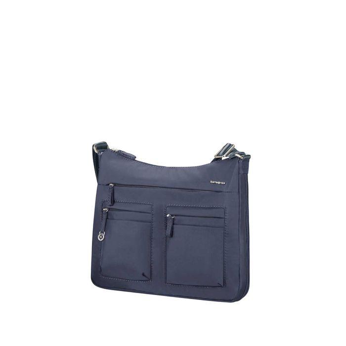 SAMSONITE - Γυναικεία τσάντα ώμου SAMSONITE MOVE 2.0 HOBO M EXP μπλε