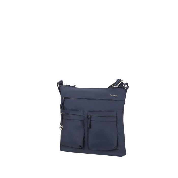 SAMSONITE - Γυναικεία τσάντα χιαστί MOVE 2.0 FLAT μπλε