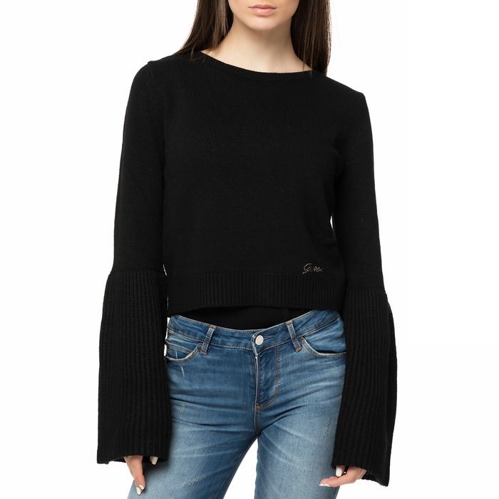 GUESS - Γυναικείο πουλόβερ GUESS ANITA SWEATER μαύρο