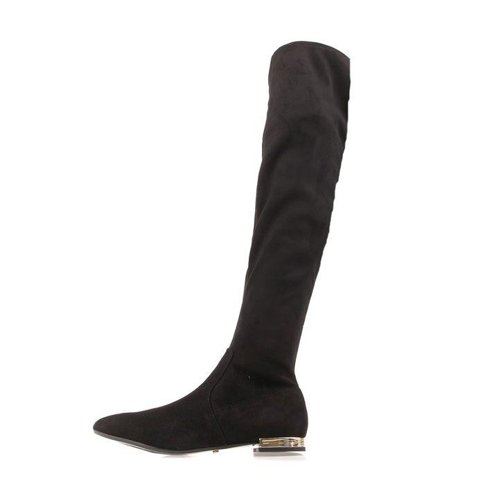 JUICY COUTURE - Γυναικείες μπότες πάνω από το γόνατο JUICY COUTURE BELLA μαύρες