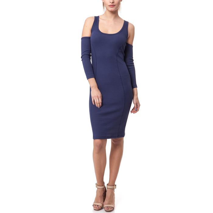 MYMOO - Γυναικείο φόρεμα MYMOO μπλε