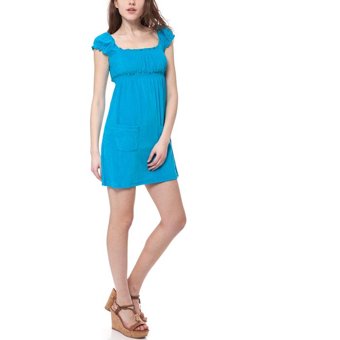 MYMOO - Γυναικείο φόρεμα MYMOO τυρκουάζ