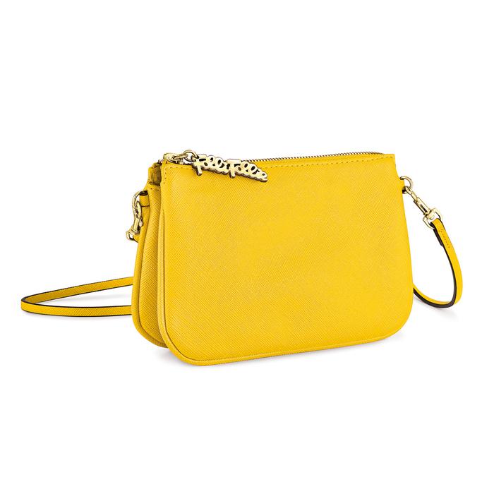 FOLLI FOLLIE - Γυναικεία τσάντα FOLLI FOLLIE κίτρινη