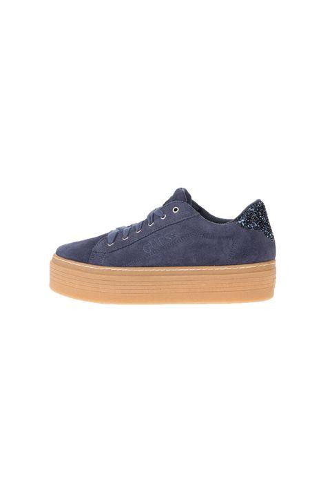 GUESS - Γυναικεία sneakers GUESS CLARIS μπλέ