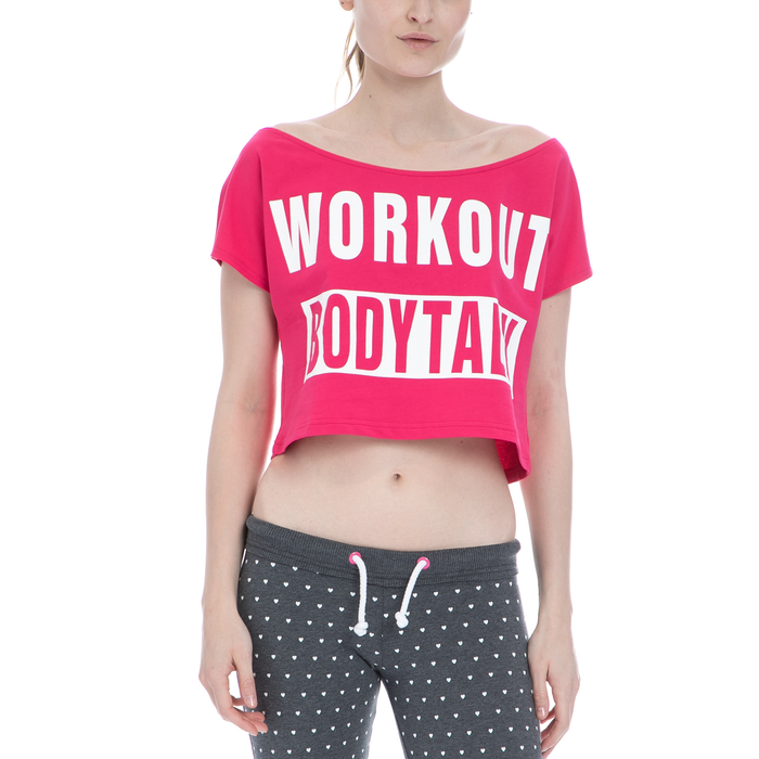 BODYTALK - Γυναικεία μπλούζα BODYTALK φούξια