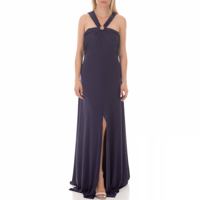 GUESS - Γυναικείο μάξι φόρεμα GUESS SELENE μπλε