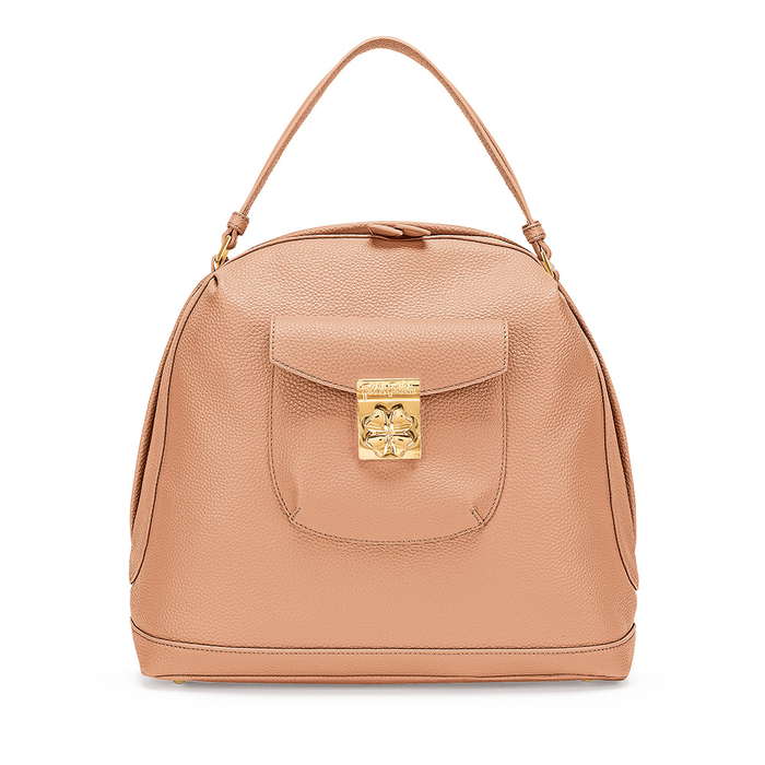 FOLLI FOLLIE - Γυναικεία τσάντα χειρός FOLLI FOLLIE ροζ