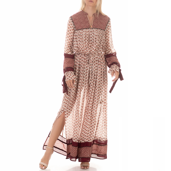 SCOTCH & SODA - Γυναικείο μάξι φόρεμα SCOTCH & SODA εμπριμέ