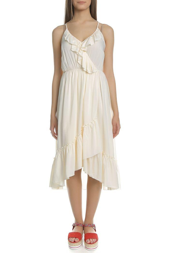SCOTCH & SODA - Γυναικείο μίντι φόρεμα SCOTCH & SODA εκρού