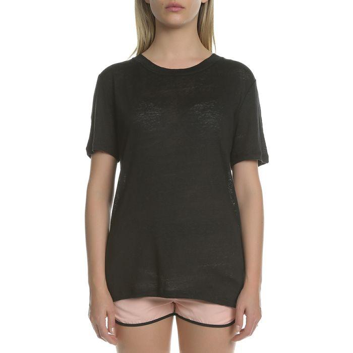 SCOTCH & SODA - Γυναικεία κοντομάνικη μπλούζα SCOTCH & SODA μαύρη