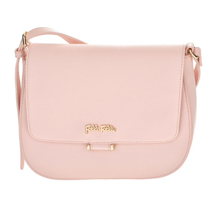 FOLLI FOLLIE - Γυναικεία μικρή τσάντα χιαστί Folli Follie ροζ