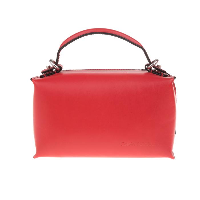 CALVIN KLEIN JEANS - Γυναικεία τσάντα CALVIN KLEIN JEANS BOX CITY BOX DUFFEL κόκκινη