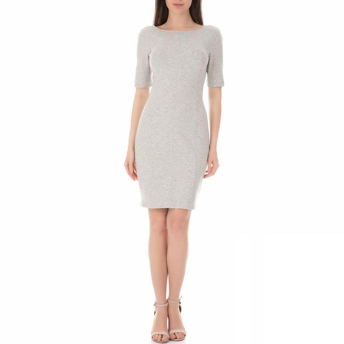 CALVIN KLEIN JEANS - Γυναικείο μίνι φόρεμα CALVIN KLEIN DEMI MILANO γκρι