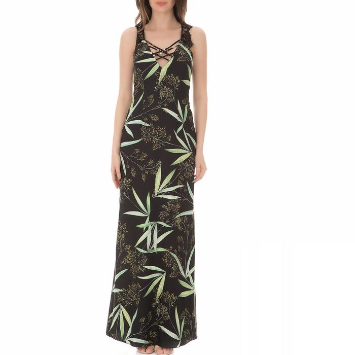 GUESS - Γυναικείο μάξι φόρεμα GUESS LANA φλοράλ