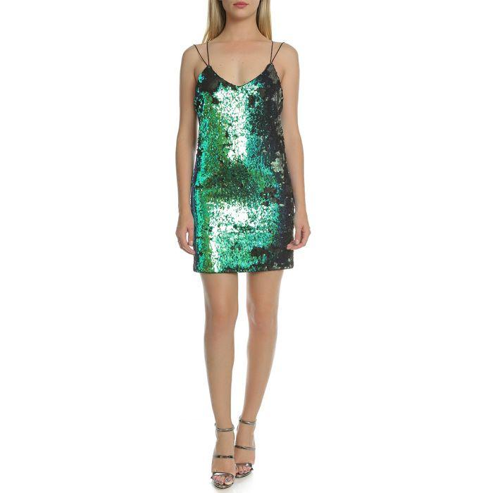 GUESS - Γυναικείο μίνι φόρεμα Guess πράσινο