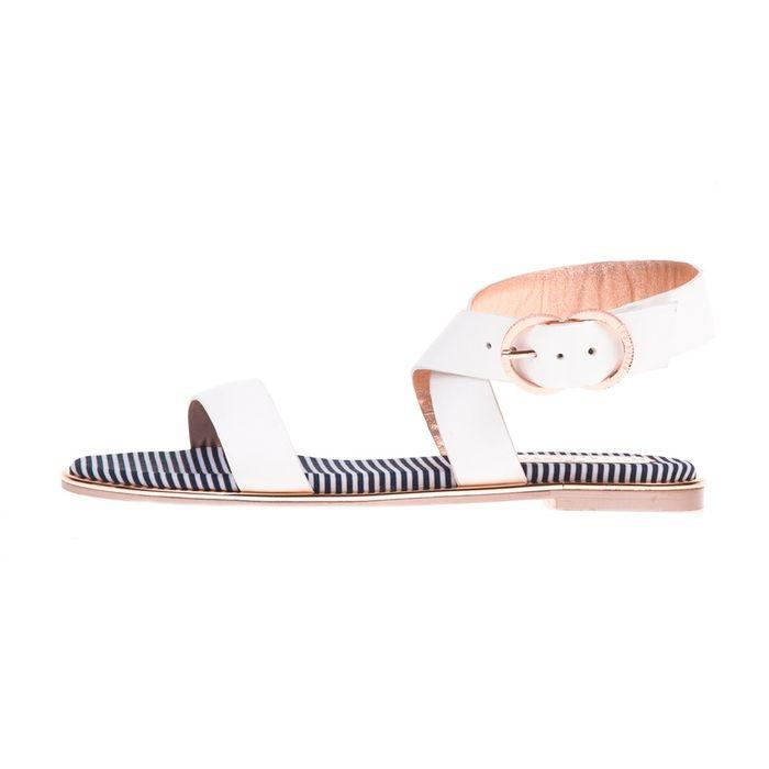 TED BAKER - Γυναικεία σανδάλια QEREDA TED BAKER λευκά