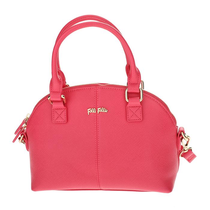 FOLLI FOLLIE - Γυναικεία μικρή τσάντα χειρός Folli Follie φούξια