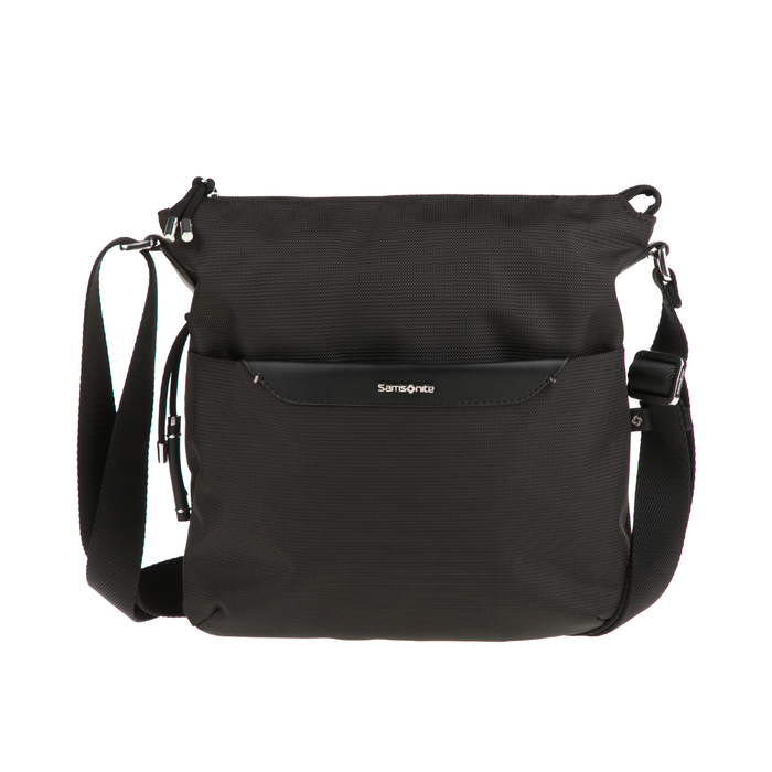 SAMSONITE - Γυναικεία τσάντα ώμου-χιαστί CASUAL 2.0 CROSSOVER μαύρη