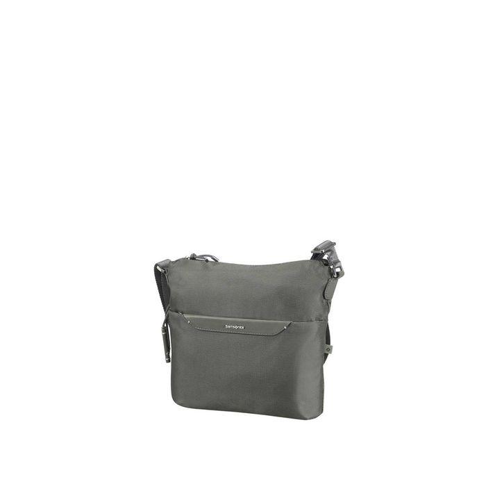 SAMSONITE - Γυναικεία τσάντα ώμου-χιαστί CASUAL 2.0 CROSSOVER χακί