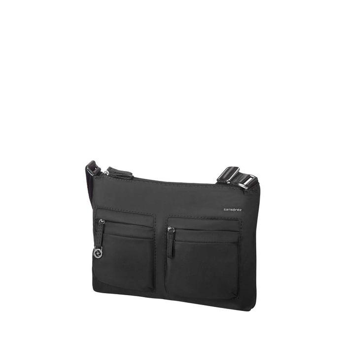 SAMSONITE - Γυναικεία τσάντα ώμου-χιαστί MOVE 2H.CROSSOVER μαύρη