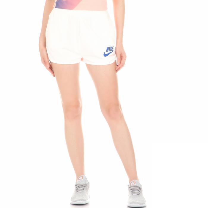 NIKE - Γυναικείο σορτς NIKE SHORT HW ARCHIVE λευκό-ροζ
