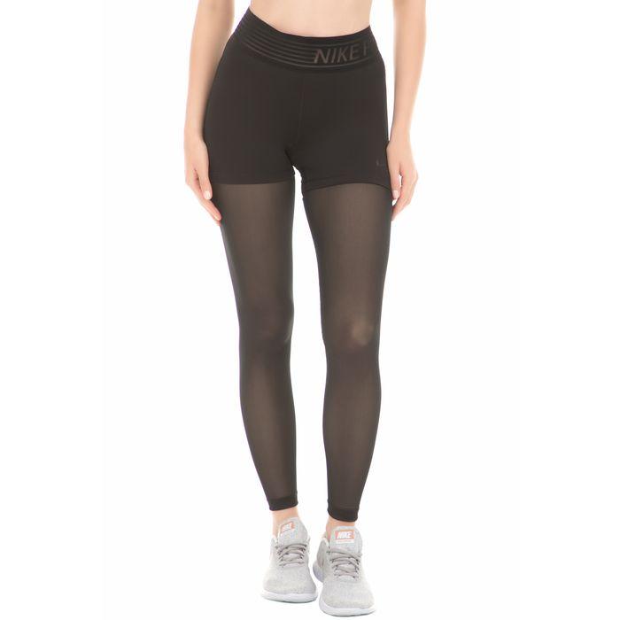 NIKE - Γυναικείο κολάν Nike Pro TGHT DELUXE MESH μαύρο