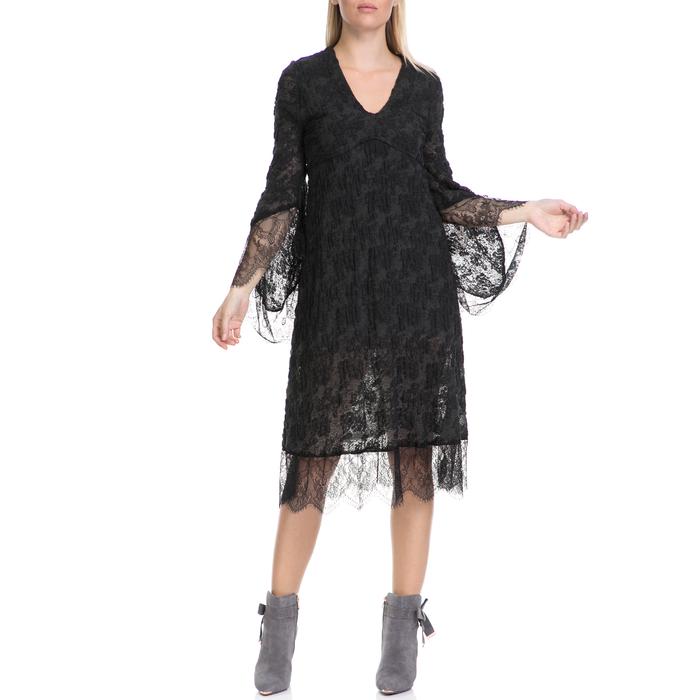 MYMOO - Γυναικείο φόρεμα MYMOO χακί