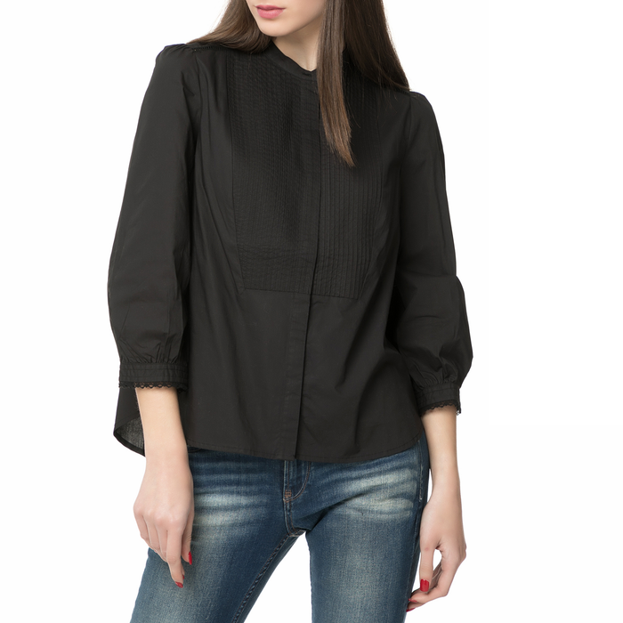LEVI'S - Γυναικείο μακρυμάνικο πουκάμισο LEVI'S LARA μαύρο