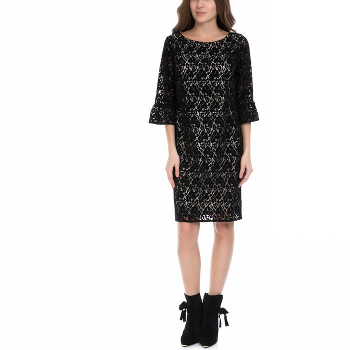 VS - Γυναικείο φόρεμα VS μαύρο-εκρού