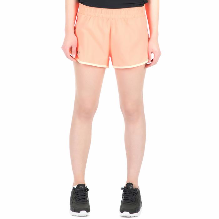 UNDER ARMOUR - Γυναικείο αθλητικό σορτς Launch Tulip πορτοκαλί