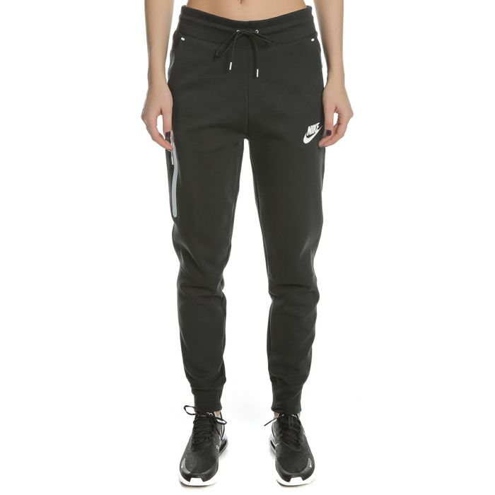 NIKE - Γυναικείο παντελόνι φόρμας NIKE NSW TCH FLC μαύρο
