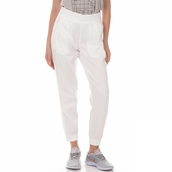 NIKE - Γυναικείο αθλητικό παντελόνι W NKCT STADIUM PANT λευκό