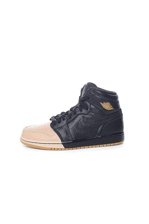 NIKE - Γυναικεία παπούτσια AIR JORDAN 1 RET HI PREM μαύρα-μπεζ