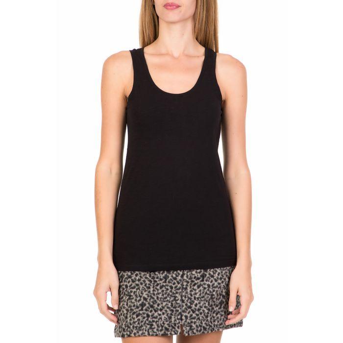 AMERICAN VINTAGE - Γυναικεία αμάνικη μπλούζα AMERICAN VINTAGE μαύρη