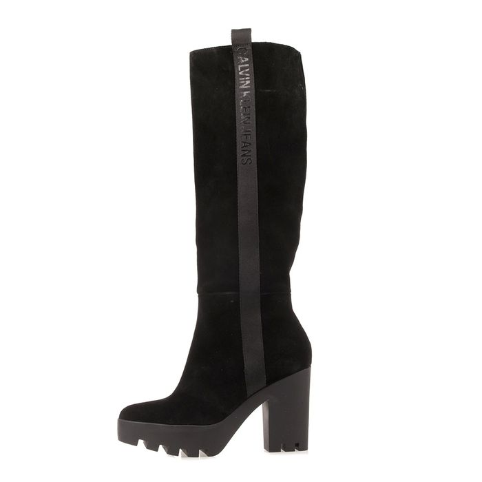 CALVIN KLEIN JEANS - Γυναικείες μπότες CALVIN KLEIN JEANS SIBILLA μαύρες