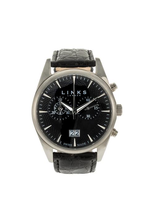 LINKS OF LONDON - Unisex ρολόι Portobello LINKS OF LONDON μαύρο