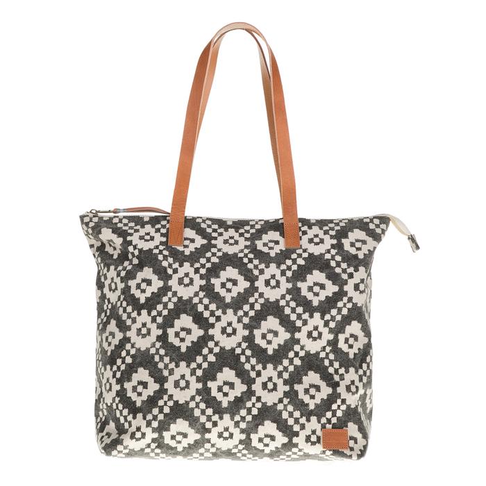 TOMS - Γυναικεία τσάντα ώμου TOMS με μοτίβο μπεζ-γκρι