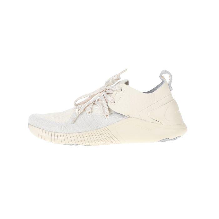 NIKE - Γυναικεία παπούτσια running NIKE FREE TR FLYKNIT 3 CHMP εκρού