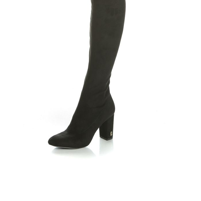 JUICY COUTURE - Γυναικείες μπότες JUICY COUTURE GIUDITTA μαύρες