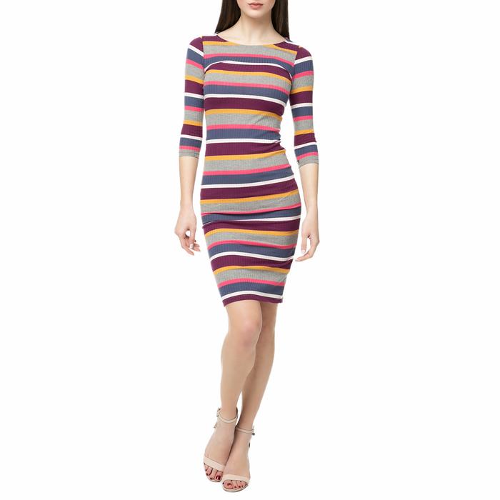 FUNKY BUDDHA - Μίνι φόρεμα FUNKY BUDDHA με ριγέ μοτίβο