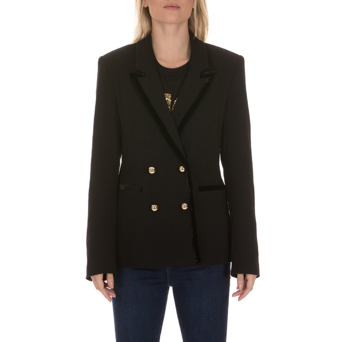 JUICY COUTURE - Γυναικείο σακάκι JUICY COUTURE SOFT SUITING BLAZER μαύρο