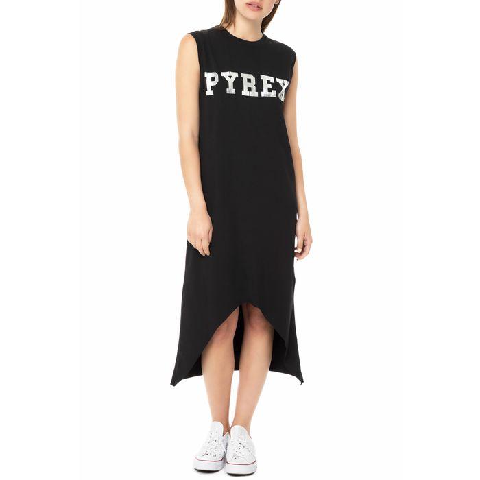 PYREX - Γυναικείο μίντι φόρεμα PYREX μαύρο