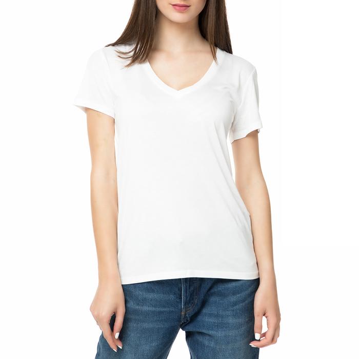 LEVI'S - Γυναικείο t-shirt LEVI'S PERFECT V NECK TEE λευκό