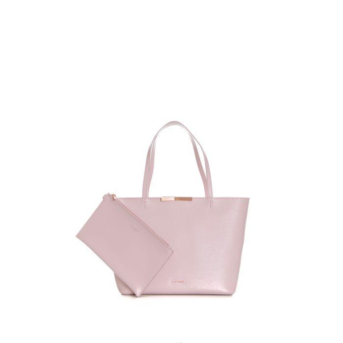 TED BAKER - Γυναικεία τσάντα ώμου TED BAKER JACKKI ροζ