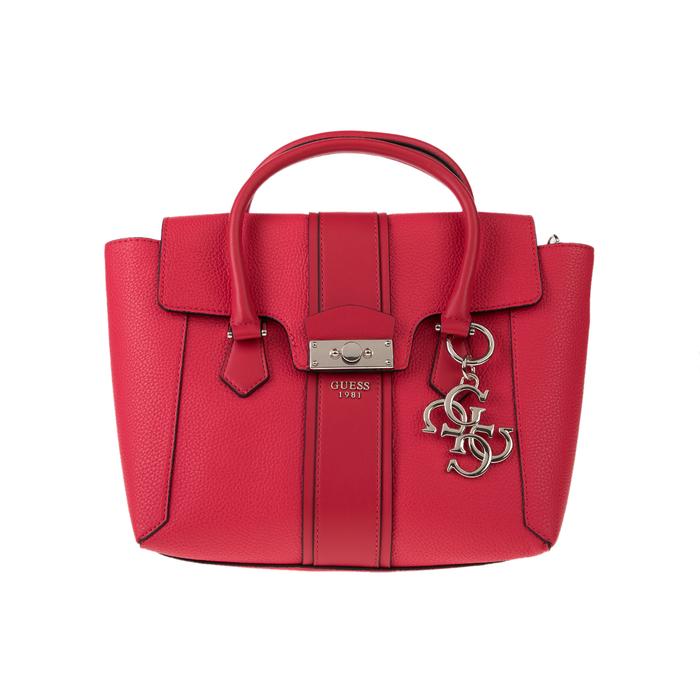 GUESS - Γυναικεία τσάντα GUESS LA HIP κόκκινο