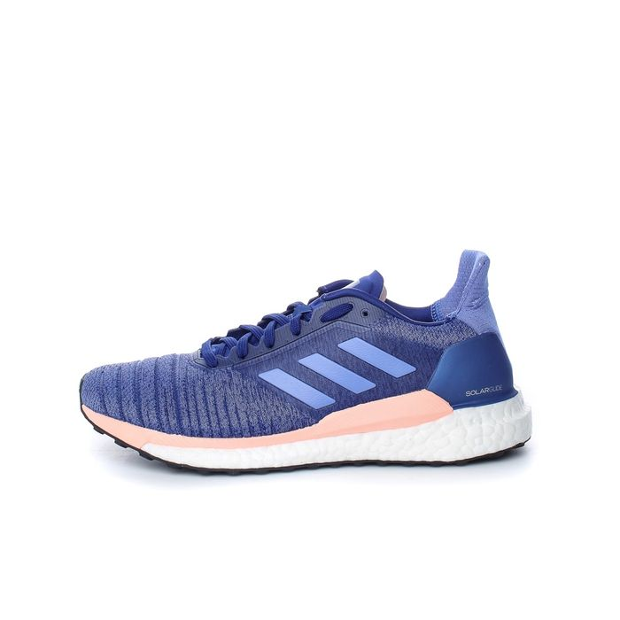 adidas Performance - Γυναικεία παπούτσια running SOLAR GLIDE μοβ